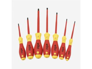 7 Piecess Set Slotted & Phillips, Vulcan Tools Caibbean Inc. Puerto Rico