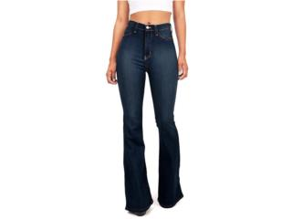 Jeans VIBRANT Denim flared bottoms , Sigma Distributors PR Puerto Rico