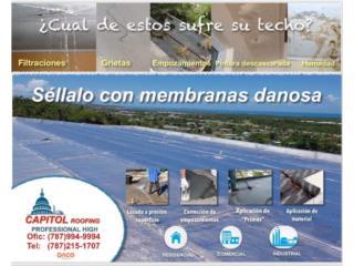 ¡SELLE SU TECHO CON DANOSA 10 AÑOS GARANTÍA!, CAPITOL Roofing Puerto Rico