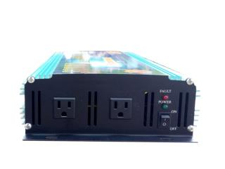 Inverter PowerJack  6000W peak 3000W , Sigma Distributors PR Puerto Rico