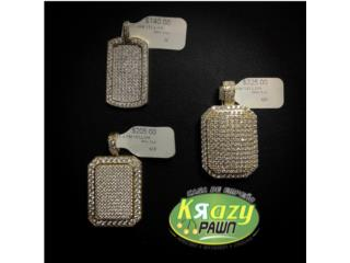 Medallas Dog Tag 10kt Desde $140, Krazy Pawn Corp Puerto Rico