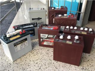 baterías Deep Cycle e industriales 80% desca., PowerComm, Inc 7873900191 Puerto Rico