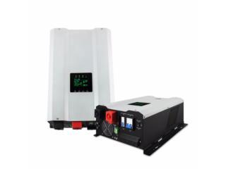Inversor 6,000 watts con regulador intergrado, Mundo Solar Puerto Rico