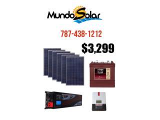 kit solar para bajar tu factura LUZ hasta 60%, Mundo Solar Puerto Rico