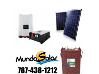 kit solar $8,999 instalado el MEJOR, Mundo Solar Puerto Rico