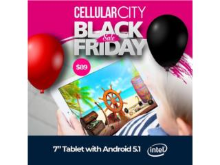 "Tableta Android 7"" Con Juegos , Cellular City Caguas Puerto Rico"