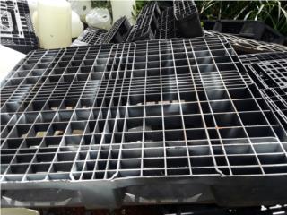paletas plasticas perforadas 42x48, NEBRIEL ENVASES DE PUERTO RICO Puerto Rico