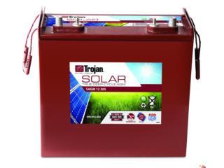 Bateria Trojan AGM 12 205 amp., Mundo Solar Puerto Rico