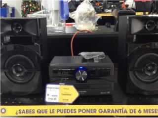 mini sistema panasonic con bt y cd, La Familia Casa de Empeño y Joyería-Aguadilla Puerto Rico
