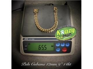 "Puls. Cubana USADA 12mm 14kt 9"", Krazy Pawn Corp Puerto Rico"
