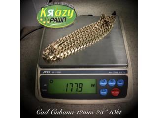 "Cad. Cubana 12mm USADA 10kt 28"", Krazy Pawn Corp Puerto Rico"