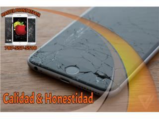 PANTALLAS, BATERIAS, PUERTOS DE CARGA IPHONE, MASTER PHONE REPAIR.LLC Puerto Rico