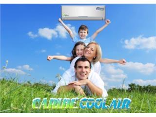 Trabajamos en toda la isla, Caribe Cool Air, Corp. Puerto Rico