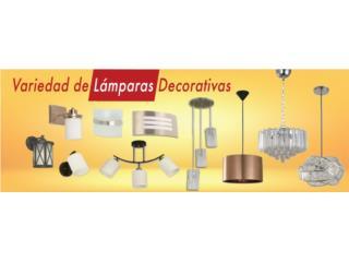 VARIEDAD DE LAMPARAS DECORATIVAS, Ferreteria Ace Berrios Puerto Rico