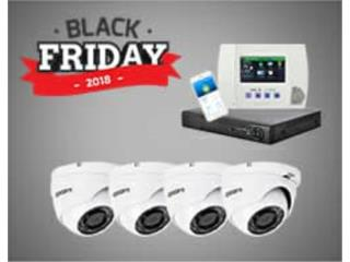 Oferta Black Fridays Camaras y Alarmas, Home Media Tech Puerto Rico