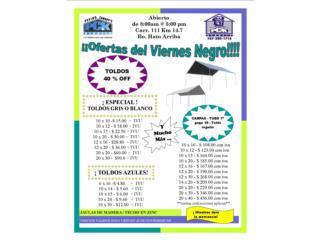 ESPECIALES  BLACK FRIDAY 2018 !!!!, Pepino Canopy's Puerto Rico
