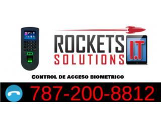 Control de acceso (huella dactilar), Rockets I.T Solutions Puerto Rico