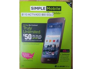 LG Rebel 3 Simple!!, Prepaid Mobile Puerto Rico