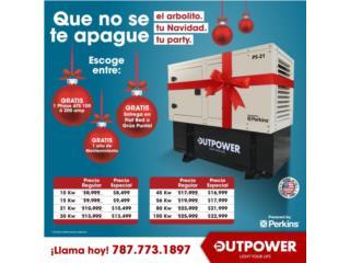 """SOBRE $1500.00 DE DESCUENTO EN ESTA NAVIDAD , OUTPOWER ENERGY CORP. Puerto Rico"