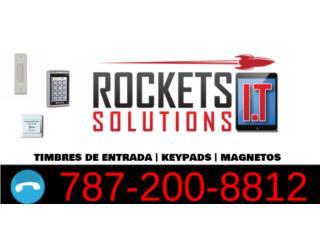 ¿Problemas con tú control de acceso?, Rockets I.T Solutions Puerto Rico