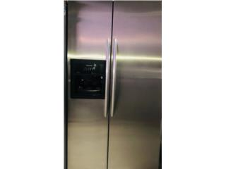 Nevera Side by Side Stainless Steel , Electro Appliance Puerto Rico