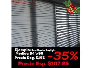 Grandes descuentos en cortinas! Vea precios, READY SHADES Puerto Rico