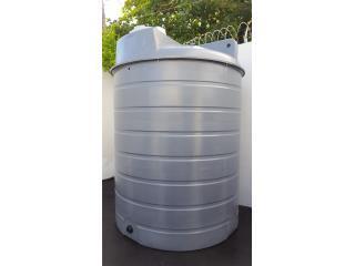 Cisterna de 2,000 galones para rociadores , Puerto Rico Water Puerto Rico