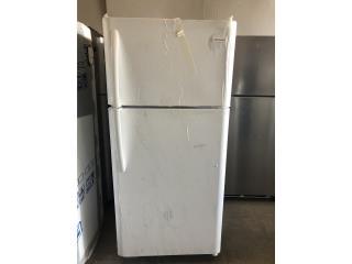 "Nevera con Freezer Arriba 18"" , Electro Appliance Puerto Rico"