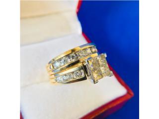 Set de Compromiso con Diamantes en Oro 14kt, Cashex Puerto Rico