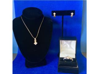 Set Pantallas, Anillo y Charm Diamantes y Oro, Cashex Puerto Rico