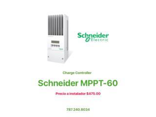Controlador de Carga MPPT-60 Schneder, MAXIMO SOLAR INDUSTRIES Puerto Rico