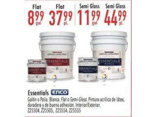 Trujillo Alto Puerto Rico Plantas Electricas, ESSENTIALS ENCO FLAT Y SEMI-GLOSS