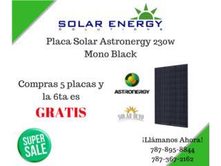 Placa Solar monocristalina de 230watts, Solar Energy Solutions LLC Puerto Rico