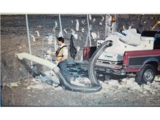 Aspiradora Madvac Diesel  8 pulgadas, CONSIGNACIONES CMA Puerto Rico