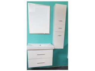 mueble de Baño - Vanity PVC, Modular 4 U Puerto Rico