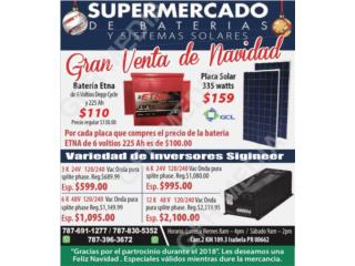 Inversor Sigineer 6 K / 48 V, Supermercado de Baterias y Sistemas Solares Puerto Rico