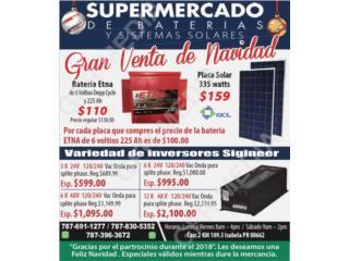 Baterias para carritos GOLF, Supermercado de Baterias y Sistemas Solares Puerto Rico