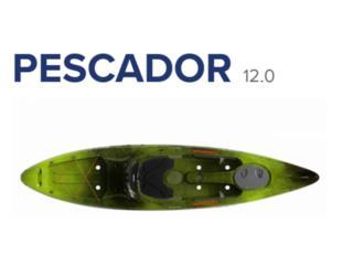 Liquidación! Perception Pescador 12.0 kayak, KANOA kayaks Puerto Rico