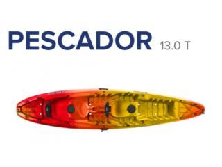 Percpetion Pescardor 13.0T NUEVOS!, KANOA kayaks Puerto Rico