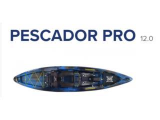 Perception Pescador 12.0 PRO NUEVOS!, KANOA kayaks Puerto Rico