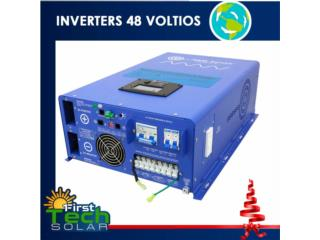 iNVERTER CHARGER 10K 48V AIMS   120/240, FIRST TECH SOLAR Puerto Rico