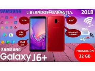 *NUEVO*SAMSUNG J6 PLUS 32GB UNLOCK EN $249, MEGA CELLULARS INC. Puerto Rico