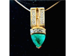 Elegante Charm Oro Diamantes y Esmlda de Muso, Cashex Puerto Rico