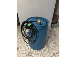 Tanque de plastico para diesel 55gal, TurboShake Puerto Rico