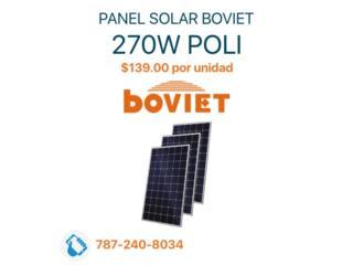 Panel Solar 270W Poli $139.00, MAXIMO SOLAR INDUSTRIES Puerto Rico
