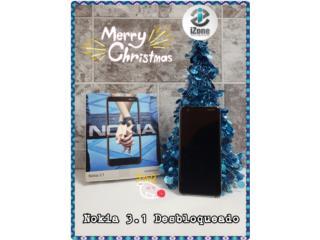 NOKIA 3.1 DESBLOQUEADO , iZone Technology San Juan Puerto Rico