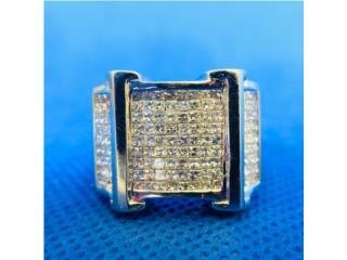 Anillo de Caballero en Oro 14k y Diamantes, Cashex Puerto Rico