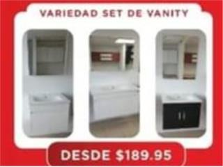 NUEVOS  SET DE VANITY BUSCA EL TUYO, Homesolution Corp. Puerto Rico