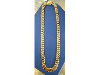 Gold Cuban Link Chain: 180.8DTW 14K, La Familia Casa de Empeño y Joyería-Mayagüez 1 Puerto Rico