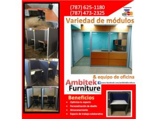 MOBILIARIO DE OFICINA REACONDICIONADO, AMBITEK FURNITURE Puerto Rico